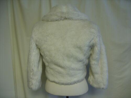 8 sintetica Giacca vita raso bianca lunghezza 0059 Uk fodera in donna Amaranto pelliccia WfggZS4
