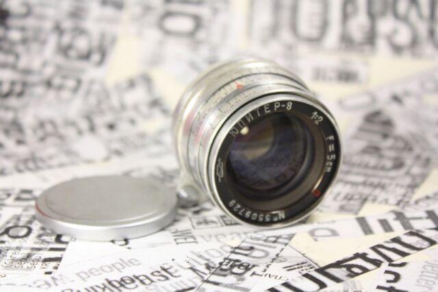 JUPITER 8 (P) 2/50 Russian M39. Lens Fed Leica Zorki №5509729