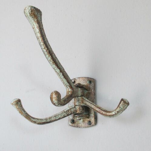 Reproduction Arms./Wardrobes Wandgarderobe Kleiderhaken Eisen Jugendstil Antik Garderobenhaken Wandhaken