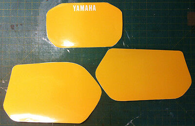 YAMAHA XT 600 Z TENERE 1VJ 86 Kit Tabelle G.  - adesivi/adhesives/stickers/decal