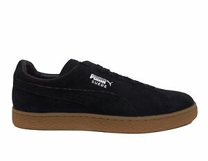 eaa8aeca9af281 PUMA Men s SUEDE CLASSIC CITI Casual Shoes Puma Black 362551-03 b