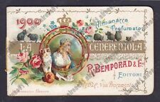 CALENDARIETTO BEMPORAD 1900 LA CENERENTOLA è il 1° Calendarietto di Bemporad !!!