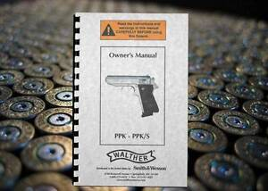 walther ppk ppk s pistol owners instruction gun manual ebay rh ebay com walther ppk/s instruction manual Walther PPK S Manufacture Date