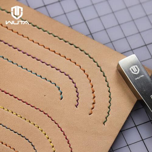 Wuta Leather Craft Outil piquage couture laçage Poinçon Ciseau Style Français 2nd
