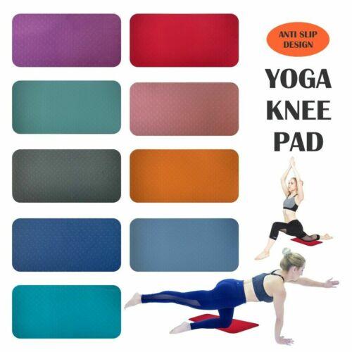 Yoga genou Pad Coussin épais Pilates Gym Exercice Fitness AB Tapis de Yoga Workout Pad