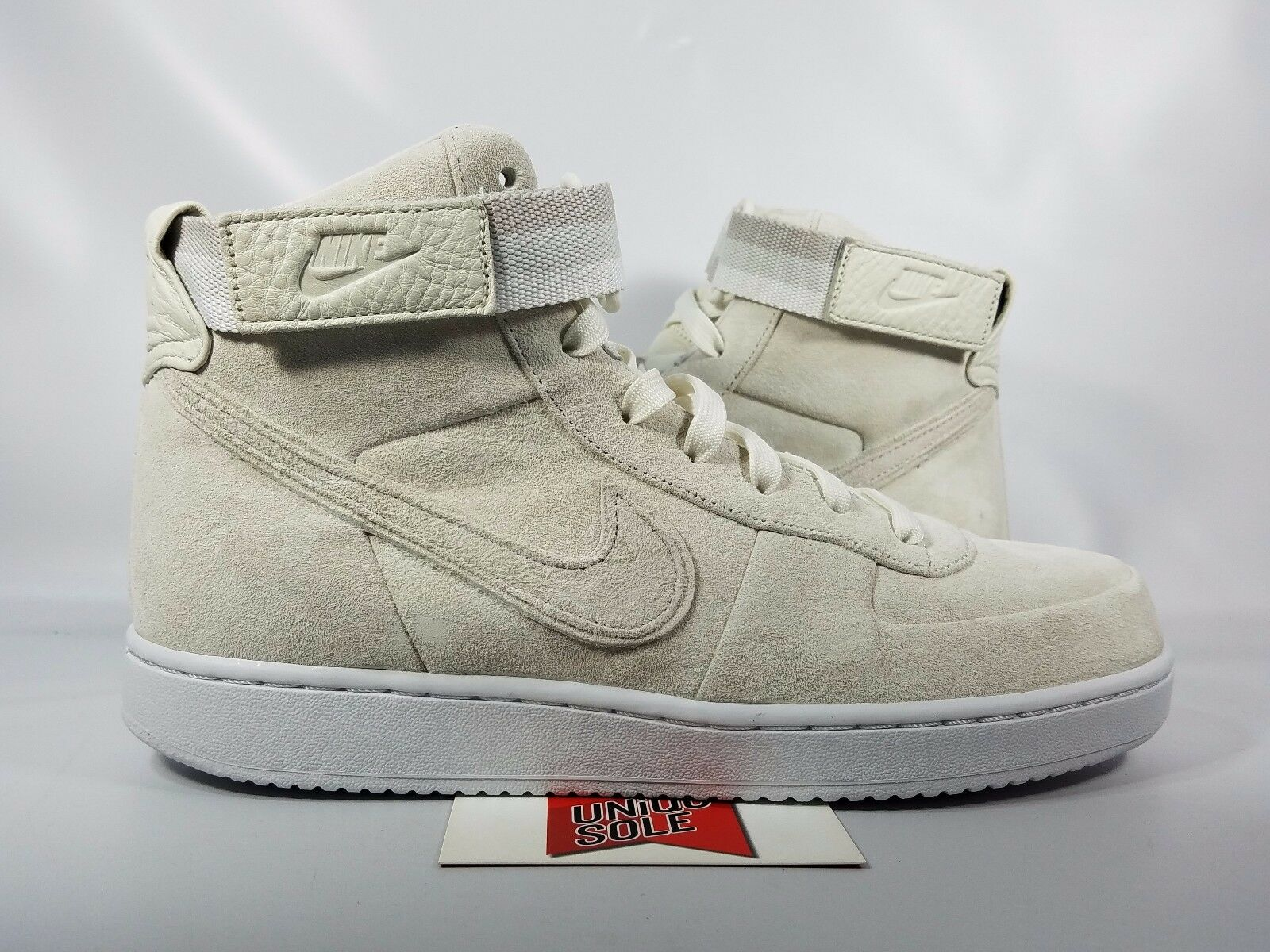 Nike Vandal SUEDE High JOHN ELLIOTT NIKELAB SAIL WHITE SUEDE Vandal AH7171-101 sz 10.5 5d6fa4
