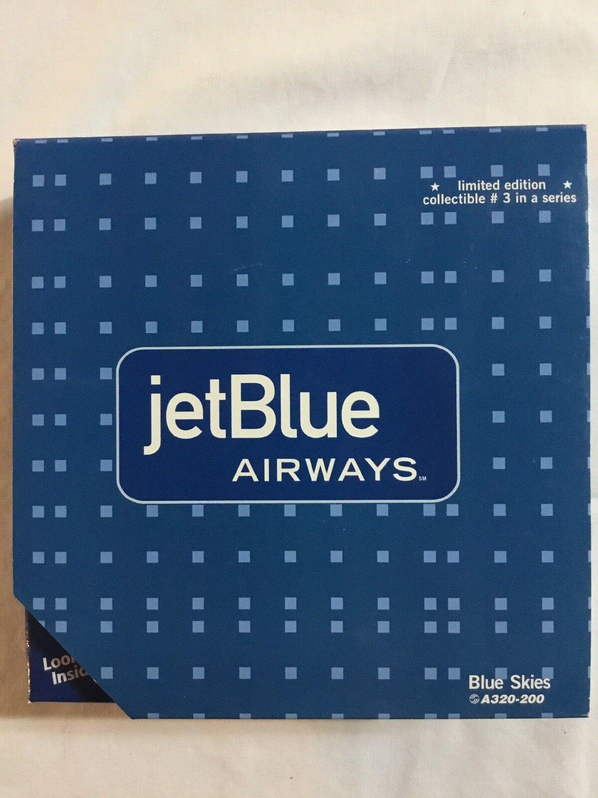 Gemini Jets GJJBU197C 1 400 Jetblu A320 (blu Skies) N505JB