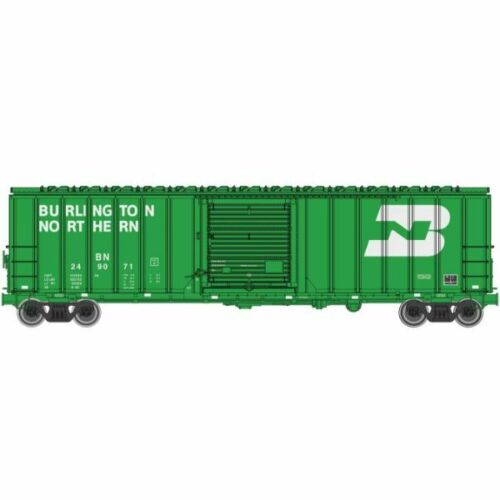 50/' ACF Exterior Post Boxcar Burlington Northern 249071 ... Walthers 910-1804