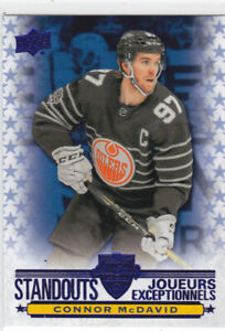 20/21 TIM HORTONS..CONNOR McDAVID..STANDOUTS..# AS-1..OILERS..FREE COMBINED SHIP