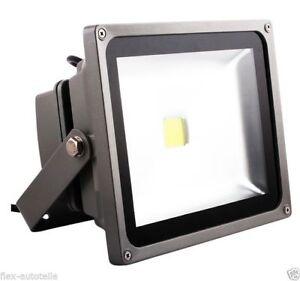 LED Eco Outdoor Lighting Construction House Hof Garden Flood 50W 230V Coldwhite