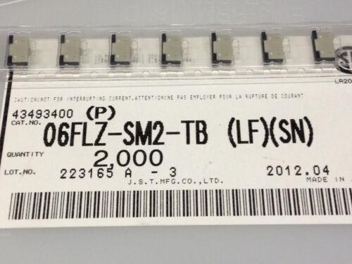 SN - FFC//FPC-plaques imprimées Connecteurs Sau m5208 P 5 pcs 06flz-sm2-tb