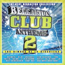 REGGAETON CLUB ANTHEMS, VOL. 2 (V/A, Dalmata, Arcangel, Tego Calderon) CD