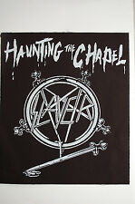 Slayer Back Patch (BP143) Metal Rock Pantera Metallica Megadeth Ozzy