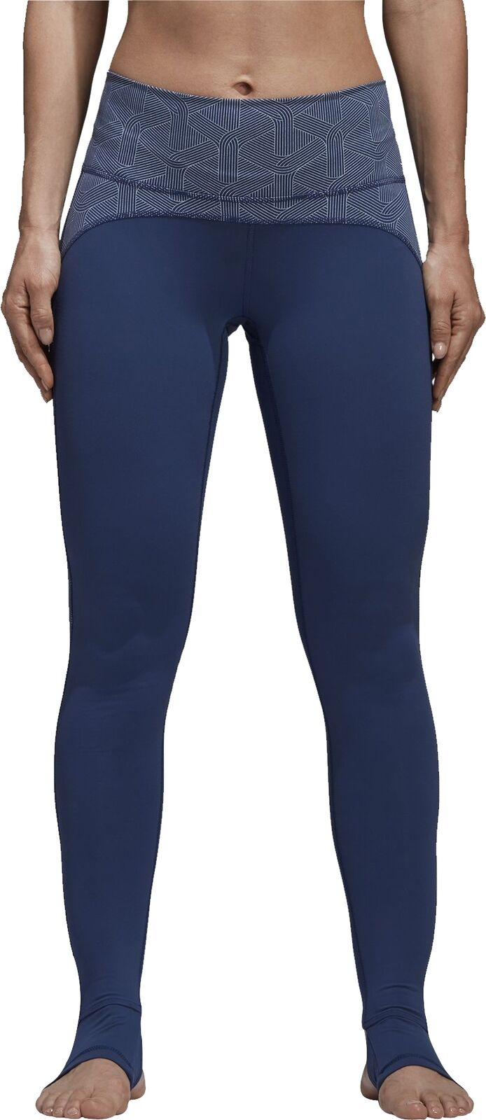 d94522989228e Adidas Believe This High Rise Womens Yoga Tight blueeeeeeeee Long -  ozidbr8357-Activewear Bottoms