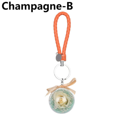 Natural Dried Flowers Eternal Flower Ornaments  Hanging Pendant Key Chains
