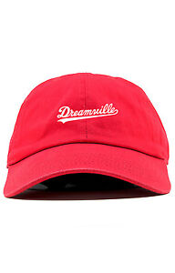 09dabacd41e0b Dreamville Custom Unstructured Dad Hat Cap J Cole TDE Nation New-Red ...