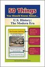 50 Things You Should Know about U.S. History: The Modern Era Flash Cards by Jonathan Gross (Undefined, 2015)