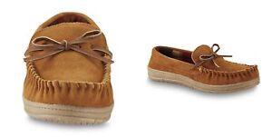 55c7318de48b Route 66 Men s Jordan Slippers Tan Suede Leather Rubber Sole ...