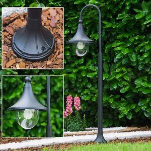 lampadaire lampe sur pied noire lanterne de jardin. Black Bedroom Furniture Sets. Home Design Ideas