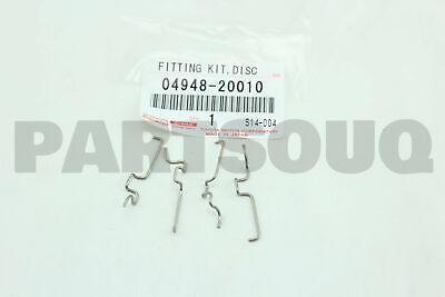 Genuine Toyota Encaixe Kit Disco Br 04948-48040