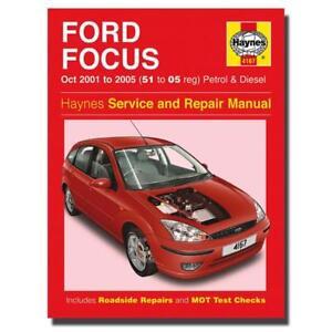 haynes manual ford focus petrol diesel 51 05 car workshop manuals rh ebay co uk Workshop Manuals Oilfield Well Testing Store Workshop Manual