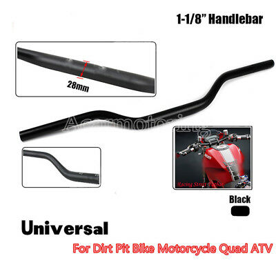 Motorcycle Handlebar Bar MX 1 1//8/'/' 28mm Pit Dirt Bike ATV Quad Motocross Enduro