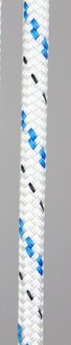 eye splice white with blue fleck 100/' 3//8 Halyard
