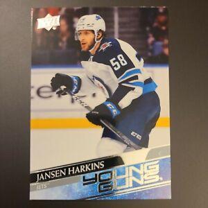 2020-21 Upper Deck Jansen Harkins Young Guns YG Rookie Card RC C41