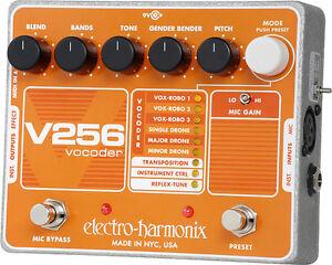 Electro-Harmonix-V256-Vocoder-free-shipping