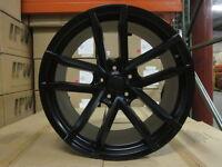 4x 20x9/11 Black Wheels Rims For 2010-16 Chevrolet Chevy Zl1 Camaro -538