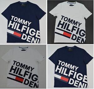 NWT-Men-039-s-Tommy-Hilfiger-Denim-Short-Sleeve-Tee-T-Shirt-M-L-XL-XXL-XXXL