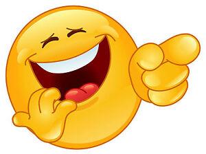 Encadrée emoji imprimer - smiley pointant et riant (photo téléphone art)   eBay