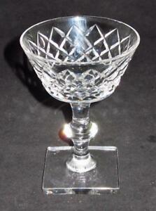 Hawkes-Delft-Diamond-Stem-7332-Champagne-or-Tall-Sherbet-Glass-5-1-8-034-Tall-AB