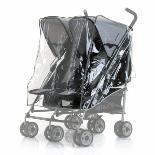 NEW HAUCK Raincover for Double Twin Pushchair Pram Rapid 3 R Duo Roadster SLX+