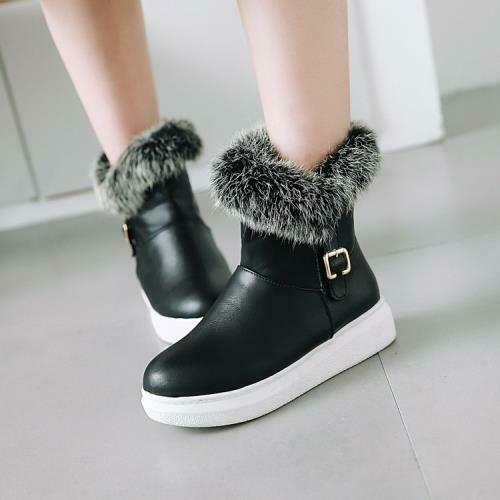 Details about  /Women Winter Warm Ankle Boots Comfort Outdoor Snow Booties Pull On Shoes 34//43 D