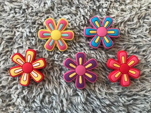 CROC SHOE CHARMS 5Piece Flower Set FLOWER POWER