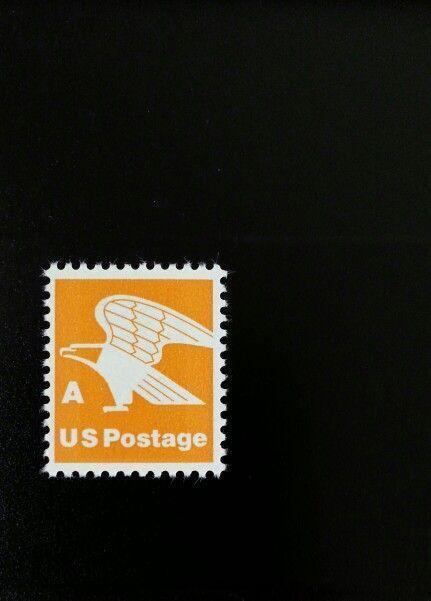 """1978 15c """"A"""" & Eagle, Orange Scott 1735 Mint F/VF NH"""
