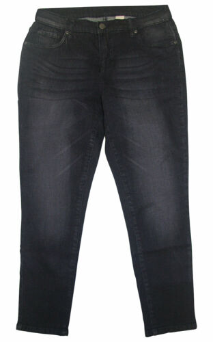 7/8 Jeans Tubo Corley Kurzgr. 20 22 23 24 BLACK used stretchjeans NUOVO