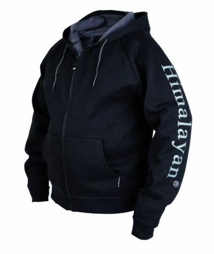 Himalayan Ultimatum H840BK Mens Black Hoodie Hooded Sweatshirt Sweater Jacket