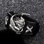 Leder-Armband-Armreif-Biker-Chopper-Bracelet-Men-Harley-Eagle-Live-to-Ride Indexbild 7