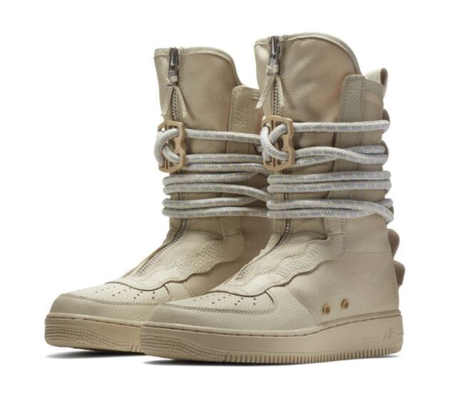 newest 4f0b9 e5965 Nike Men's SF AF1 HI Boots Special Field Air Tan Rattan Shoes Size 9  AA1128-200