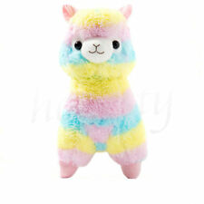 "Cute 5"" Rainbow Alpacasso KAWAII Alpaca Llama Arpakasso Soft Plush Toy Doll Gift"