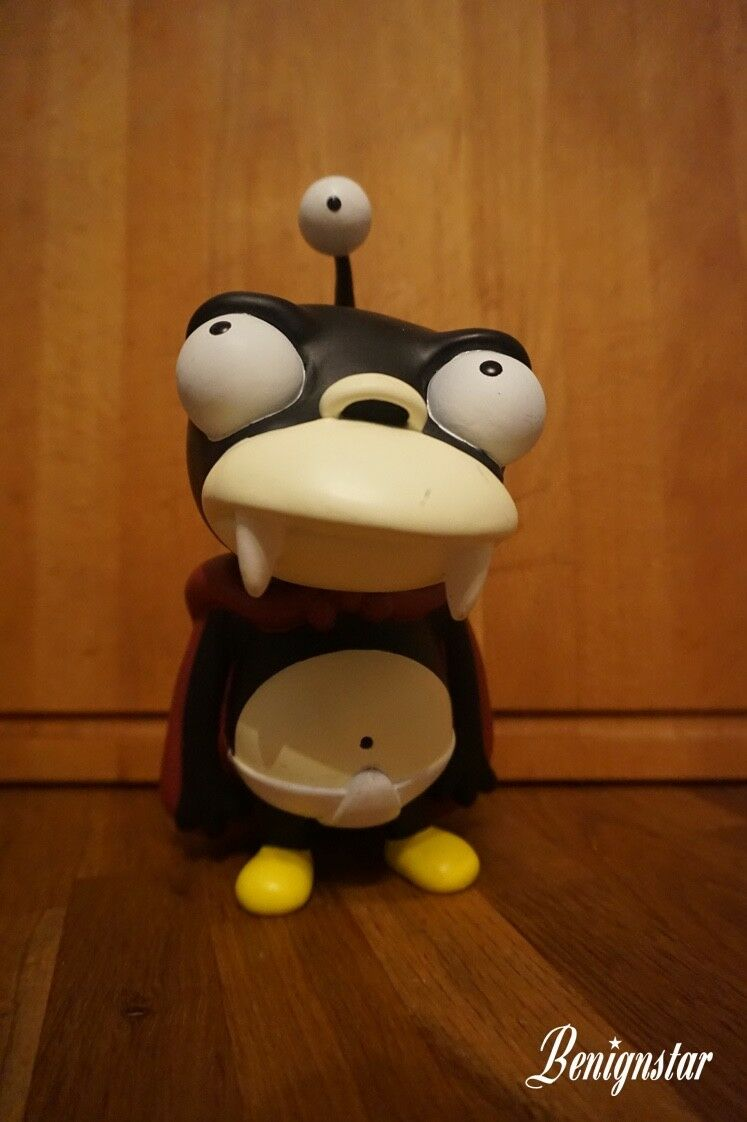 Futurama Nibbler Vinilo Figura Estatua Moore Acción Collectibles 2000