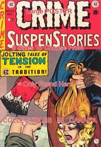 CRIME-SUSPENSTORIES-1954-22-Holding-Head-AXE-Horror-POSTER-8-Sizes-18-034-36-034