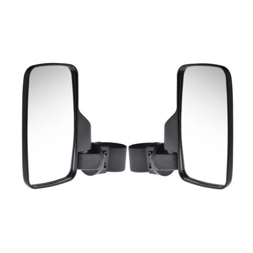 "2/"" Roll Cage Set Kit UTV Side View Mirror High Impact Break Away Convex 1 5//8/"""
