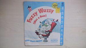 Details about Little Golden Records FUZZY WUZZY (WUZ A BEAR) 45rpm 50s