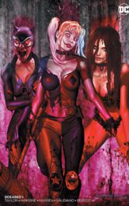 DCEASED #1 GREG HORN B VARIANT DC COMICS BATMAN WALKING DEAD 19 HOMAGE OF 6