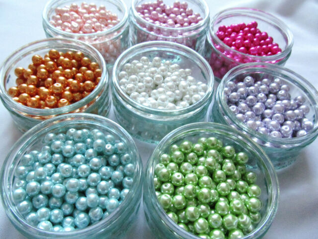 1000's Glass Seed Beads Bright Opaque Mixed Colours 2mm 12/0 Starter Pack Gift