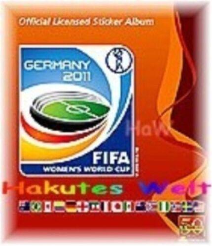 NUOVO-MINT PANINI donne WM 2011-Germania-glitzersticker-STEMMA