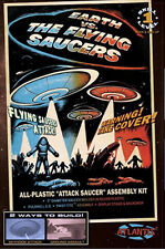 Atlantis Models 1005 'Earth vs. The Flying Saucers' Lighted UFO Model Kit